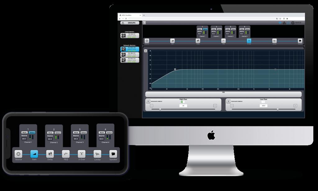 CloudPower UI
